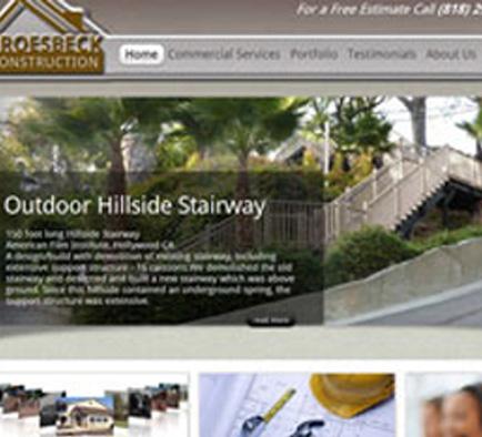 Home Construction Renovation Company Website Home